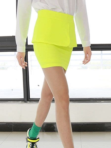 1000 ideas about yellow pencil skirt on