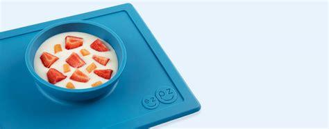 Ezpz Happy Bowl In Blue buy the ezpz happy bowl at kidly