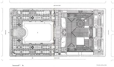 House Site Plan asla 2010 professional awards bryant park