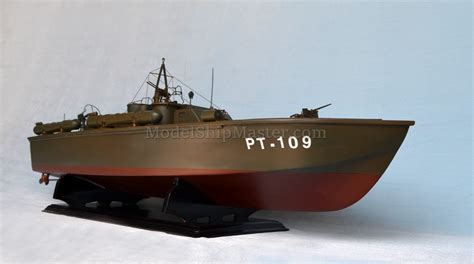 pt boat made of wood kenedy s pt 109 boat