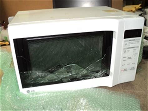 Oven Door Glass Broken Lg Ms 1947c 19lt 1200w Microwave Oven White Glass Of Microwave Door Auction 0003
