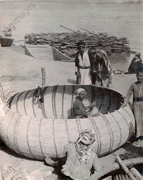 round reed boat 17 best images about iraq people on pinterest copper