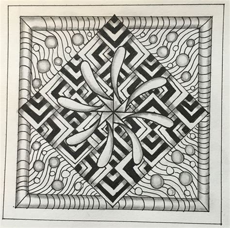 zentangle pattern enyshou 222 best zentangle a reference 3 images on pinterest
