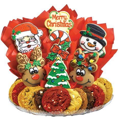 decorated christmas cookies christmas bouquet cookies  design