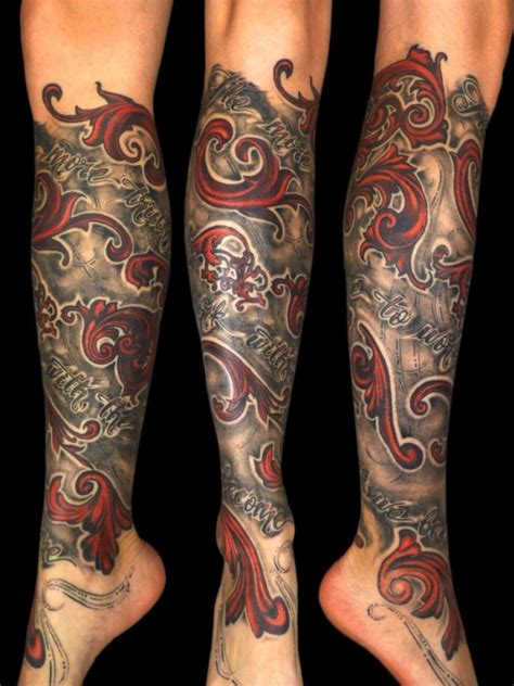 lower leg sleeve tattoo designs 51 coolest steunk designs amazing ideas