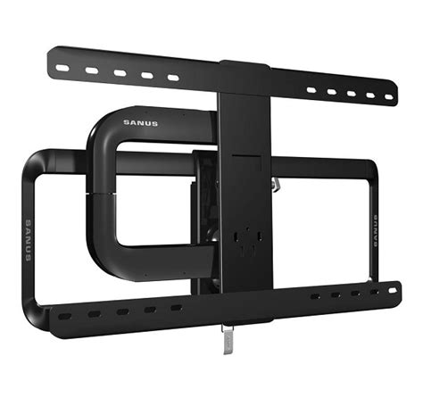 sanus full motion wall mount reviews the sanus vlf525 b1 51 70 full motion tv wall mount