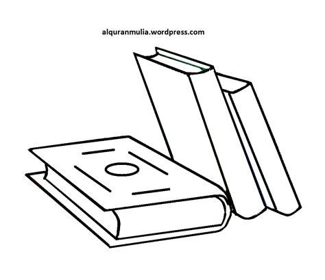 Buku Sketsa gambar gambar mewarnai peralatan sekolah anak buku di