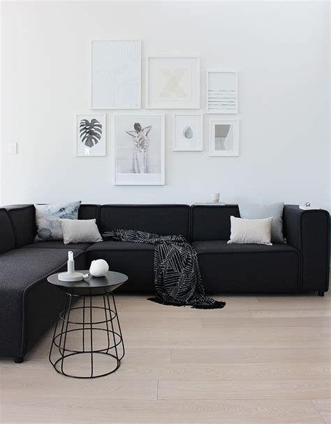 living rooms with black couches 25 best ideas about sofa on neutral living room sofas and neutral