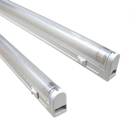 Saunter T4 6 Watt 4100k 9 3 8 Fluorescent Fixture Set 2 T4 Cabinet Lighting