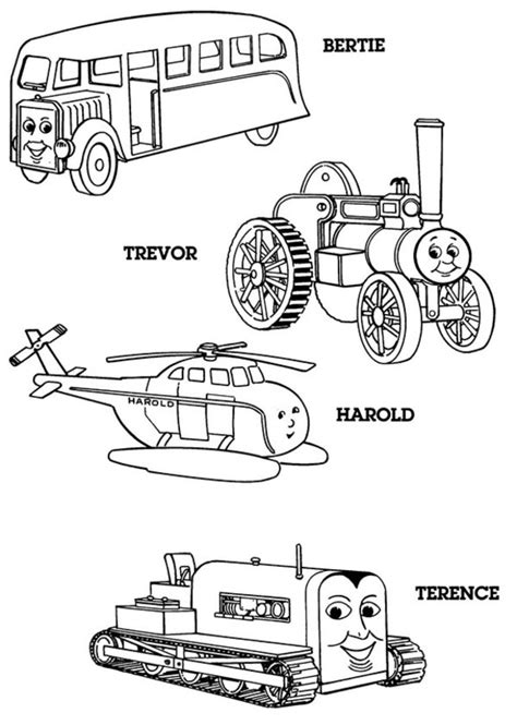 Thomas The Tank Engine Coloring Pages 18 Coloring Kids The Tank Engine Colouring Pages To Print