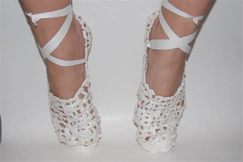 The Paper Shoes by Ryerson Walking Structures Paper Shoes