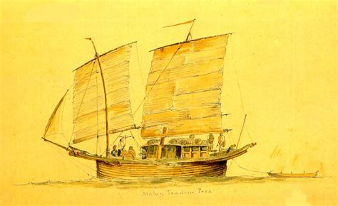 malay boat sejarah melayu gallery engravings
