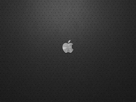 metal apple wallpaper small metal apple on leather hd desktop wallpaper