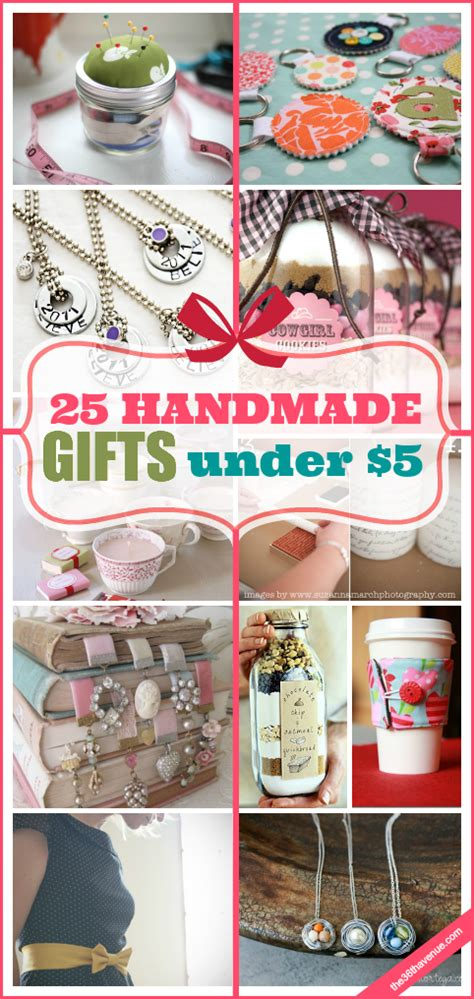 Cheap Handmade Gifts - 25 handmade gifts 5 the 36th avenue