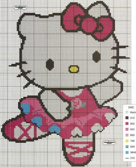 imagenes de kitty en punto de cruz punto de cruz esquemas de hello kitty