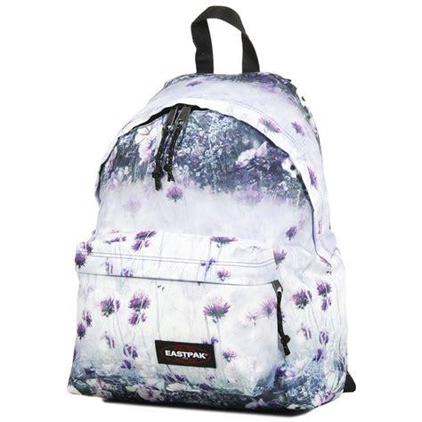 zaino eastpak a fiori sac 224 dos eastpak padded pak r purple chive vos valises
