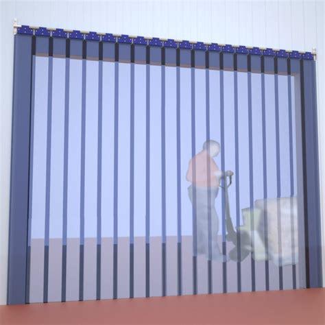 cortinas de plastico para puertas comprar cortina de lamas pvc fija