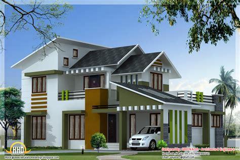 3 bedroom kerala villa elevation kerala home design idea 1750 square 3 bedroom modern villa kerala home design and floor plans
