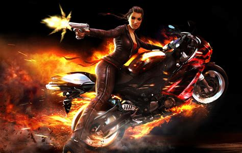 imagenes para fondo de pantalla motocross fondo escritorio mujer moto
