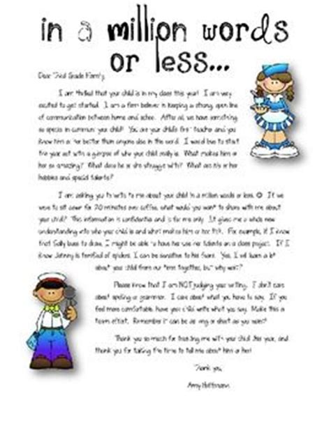 Parent Welcome Letter From Preschool 25 Best Ideas About Classroom Welcome Letter On