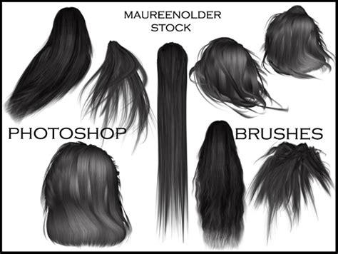 Hairstyle Photoshop Brushes by Stock Photoshop Brushes Hair By Maureenolder On Deviantart
