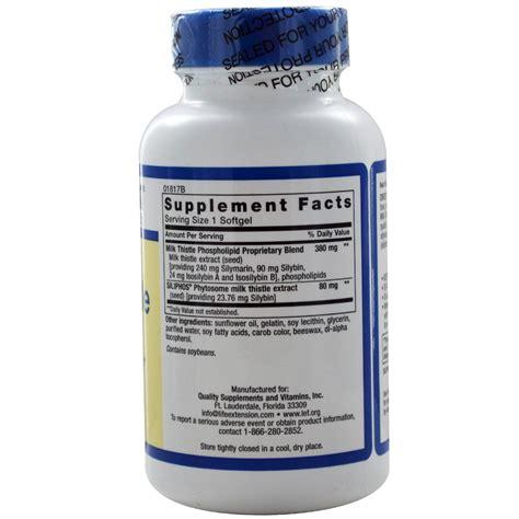 vitamins supplements life extension europe life extension european milk thistle 120 softgels