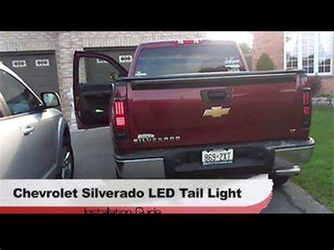 2014 Chevy Silverado Light Problems by 2008 2013 Chevy Silverado Winjet 174 Led Light Black