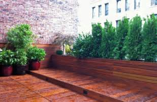 Garden Benches Melbourne Manhattan Roof Garden Terrace Deck Wood Planter Boxes