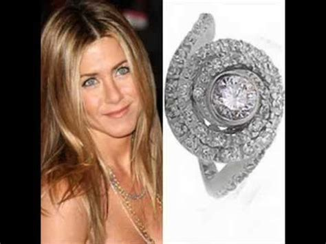 Celebrity Jennifer Aniston's Engagement Ring   YouTube
