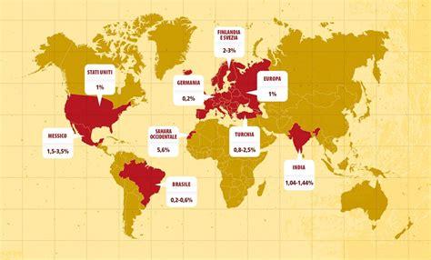 alimentazione celiaca la mappa mondiale della celiachia