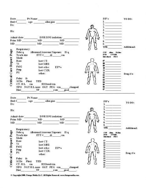 Med Surg Nursing Worksheet by 16 Best Images Of Lab Template Worksheet Science Lab