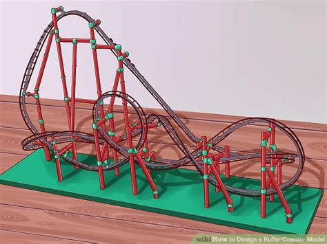 how to make a roller coaster in your backyard how to design a roller coaster model with pictures wikihow