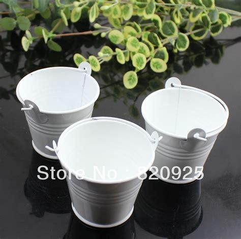 Buket Box Kado Bunga Box aliexpress buy free shipping 10x beautiful white tinplate favor pails mini boxes
