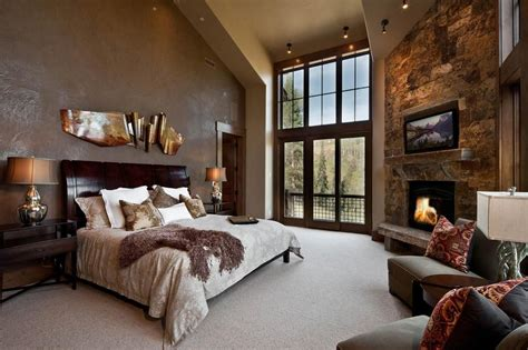 Bedroom Fireplace Design Ideas Creating Luxurious Master Bedrooms With Limited Budgets Twipik