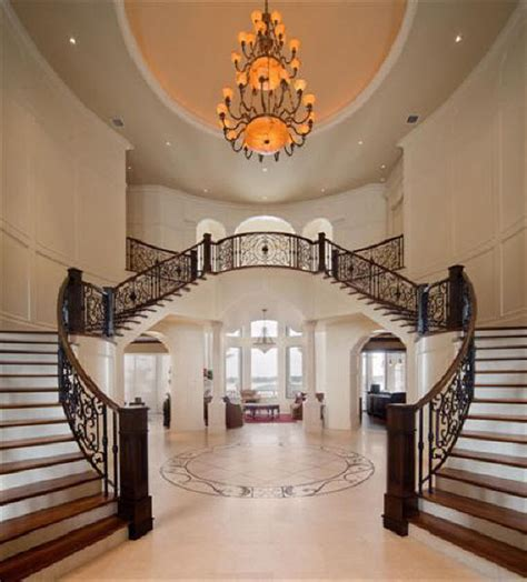 Luxury Interior Design Staircase To Large Sized House Luxury Homes Interior Design