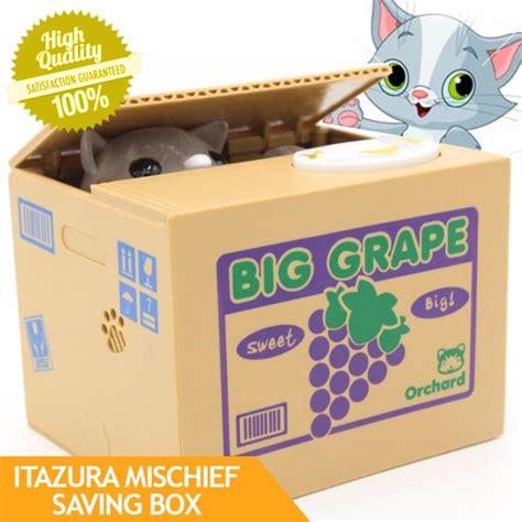 Celengan Kucing Itazura Kitten Coin Bank jual itazura celengan kucing pencuri coin bank money