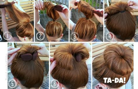 hairstyles accessories bun with socks battle of the sock bun stylers peace and glitter