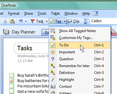 How To Organize Your Life With Onenote Onenote To Do List Template
