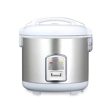 Rice Cooker Sanken Stainless Steel oyama model cfs f18w 10 cup stainless steel rice cooker
