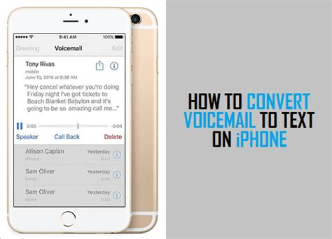 voicemail to text android how to convert voicemail to text on iphone