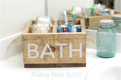 diy shower caddy 20 awesome ways to declutter your bathroom