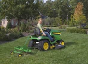 John deere lawn tractor attachments