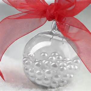 clear plastic ball ornament acrylic fillable ornaments