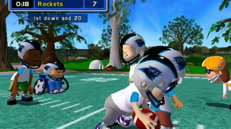 backyard football gamecube gameplay