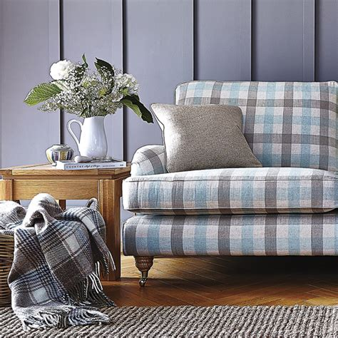 duck egg blue sofas uk 5 of the best patterned sofas for colourful country living