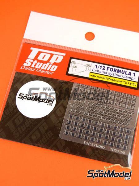 Top Studio Muffler Springs Small 112 Top Studio Detail 1 12 Scale Exhaust Cls Ref