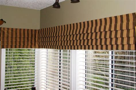 window valance ideas living room window treatments