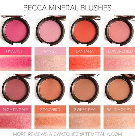 Honey Quartz 006 sneak peek becca mineral blushes photos swatches