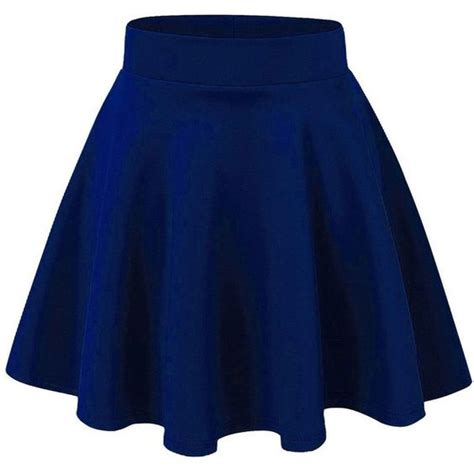 blue skater skirt stretch skirts and circles on