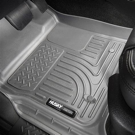 Custom Floor Mats by Husky Liners 99012 2009 Dodge Ram Gray Custom Floor Mats